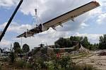 Stěhování leteckého muzea z Olomouce
