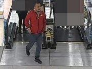 Tento muž se pokoušel krást v olomouckém nákupním centru