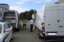 Kontrolní vážení vozidel na území Olomouce