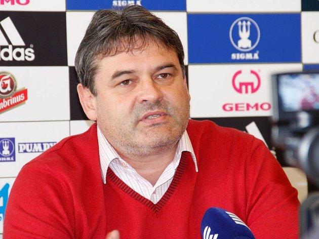 Sportovní ředitel Sigmy Ladislav Minář.