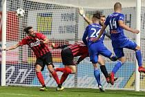 SK Sigma - Opava gól 2:2 Nešpor