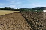 Předáním staveniště byla v pondělí 13. července zahájena první etapa výstavby atletického stadionu ve Šternberku
