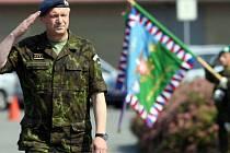 Vlastimil Picek při loučení v Olomouci