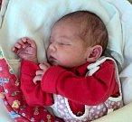 Adriana Blinková, Uničov, narozena 9. května ve Šternberku, míra 50 cm, váha 3170 g