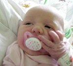 Emílie Štýbnarová, Olomouc, narozena 15. března v Olomouci, míra 50 cm, váha 3620 g