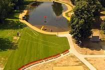 Nové koupaliště aneb přírodní koupací biotop v Litovli