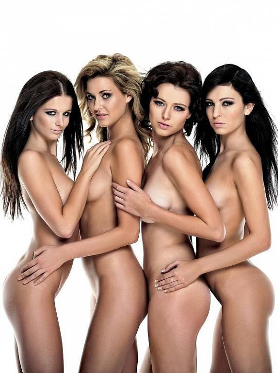 nahé sexy dívky
