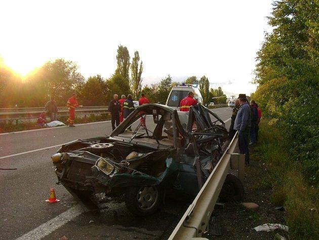 Po havárii z auta moc nezůstalo.