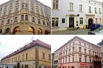 Paláce v centru Olomouce z realitního portfolia Ivana Kyselého