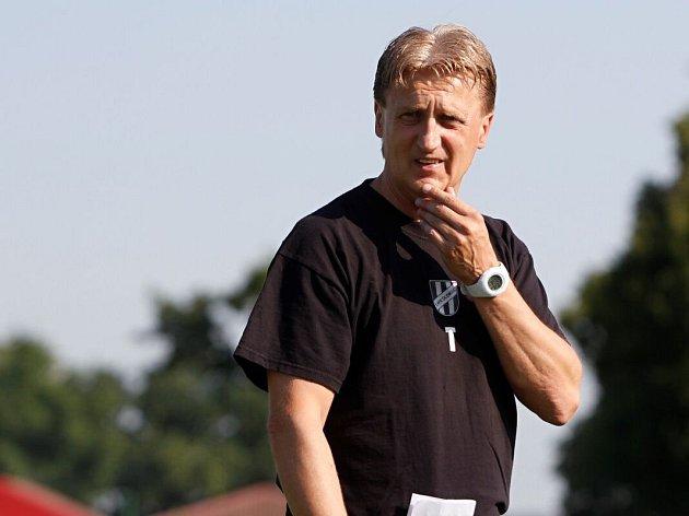 Oldřich Machala jako nový trenér HFK Olomouc vlétě 2015