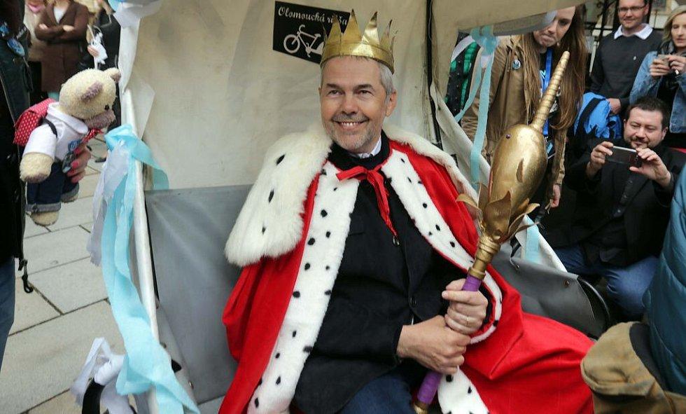 Marek Eben, olomoucký král majálesu 2016