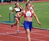 Olomoucký kraj zvítězil ve štafetě žákyň na 4x40 m