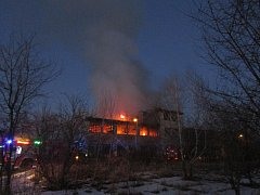 Ve středu 15. února 2017 byl v 17:30 hodin oznámen na operační středisko HZS Olomouckého kraje požár bývalé skladovací haly v obci Litovel-Unčovice.