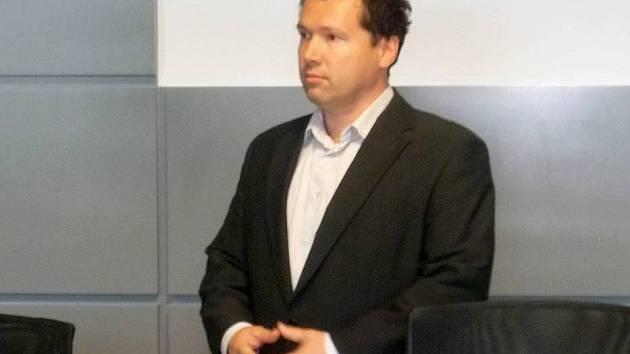 Podnikatel Antonín Šanovec u krajského soudu
