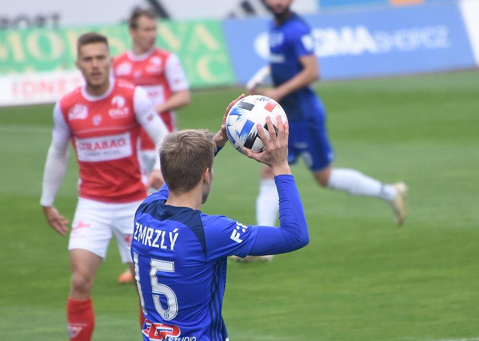 SK Sigma Olomouc - FK Pardubice 0:1 (0:0)Ondřej Zmrzlý
