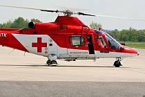 Vrtulník Augusta A109K2 společnosti ATE, který má létat v Olomouci