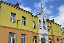 Základní škola v Dlouhé Loučce, leden 2021