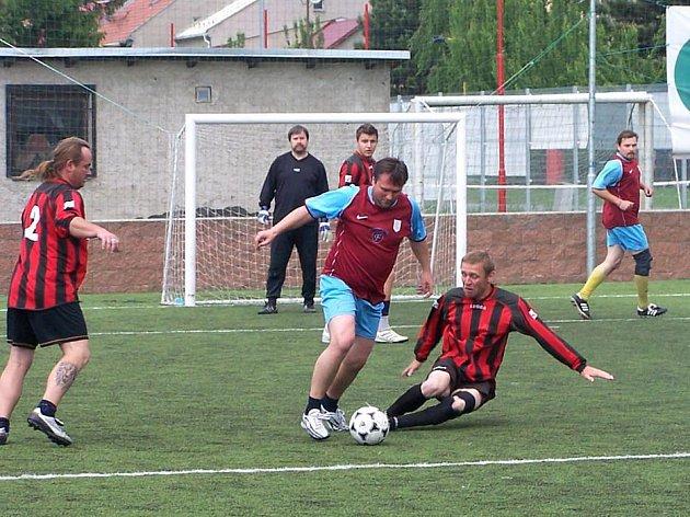 Zápas První futsalové ligy Olomoucka