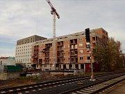 Do areálu ve Wolkerově ulici soustředili investoři hned tři projekty: Zlaté Terasy, Nová Wolkerova a Nová Sladovna.