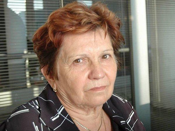 Bylinkářka Jarmila Podhorná zBrodku uKonice