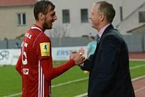 Tomáš Chorý s trenérem Jílkem