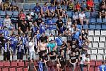 Fanoušci Sigmy na zápase s Karvinou na Andrově stadionu, 10.8.2019