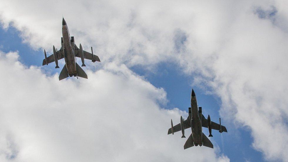 Stíhačky Tornado německé armády. Ilustrační foto