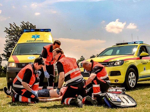 Zdravotnická záchranná služba. Ilustrační foto