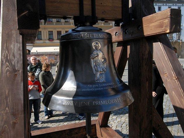 Zvon Svatý Jan Sarkander.
