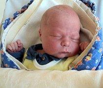 Marek Bělský, Tovéř, narozen 27. března ve Šternberku, míra 51 cm, váha 3830 g