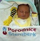 Elena Šmejkalová, Petrov nad Desnou, narozena 22. dubna ve Šternberku, míra 51 cm, váha 3440 g