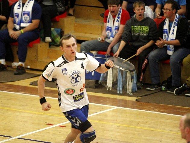 Házená Tatran Litovel, hráč David Barabáš