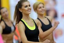 Nela Mandátová ze Znojma - vítězka oblastního kola Miss Aerobik v Olomouci
