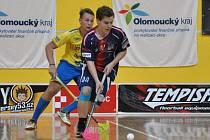 Momentka ze semifinálového klání juniorů mezi FBC ČPP Bystroň Group Ostrava a FbC Frýdek-Místek.