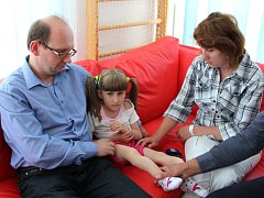 Rodina Hambálkova věří, že Verunka po operacích bude žít normální život