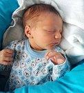 Ondřej Vítek, Litovel, narozen 8. března v Olomouci, míra 51 cm, váha 3160 g