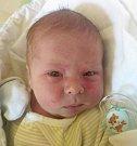 Matěj Vaculík, Vacanovice, narozen 2. dubna, míra 52 cm, váha 3730 g