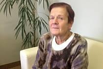 Zdravotní sestra Jarmila Čtvrtníčková, která prodělala bandáž žaludku