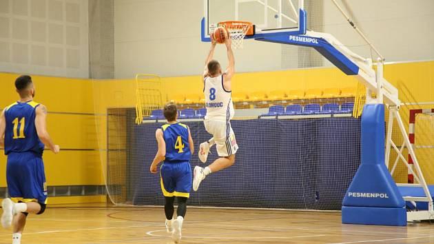 Basketbal Olomouc (v bílém)
