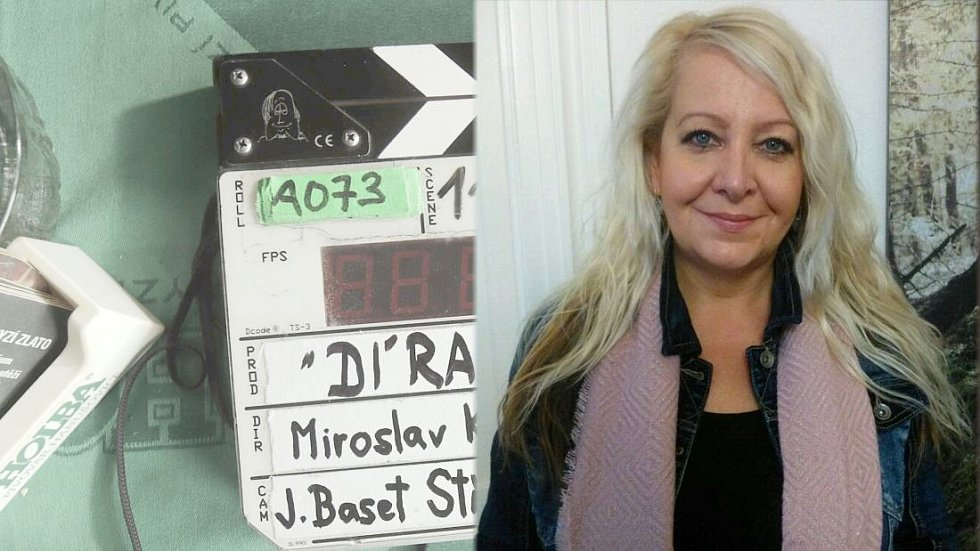 Lenka Dusová z agentury Jeseníky Film Office