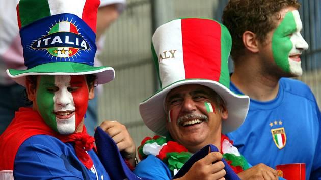 Fanoušci Itálie. Ilustrační foto