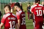 Fotbalisté Uničova. Ilustrační foto