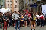 Majáles studentů Univerzity Palackého v Olomouci