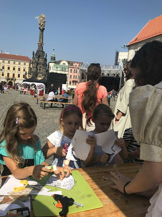 Doprovodný program na Horním náměstí, 12. září 2020