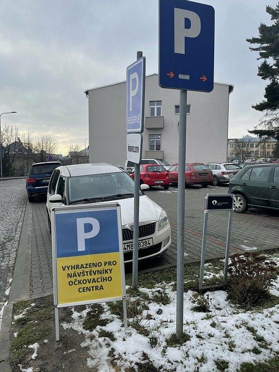 Očkovací centrum ve Fakultní nemocnici Olomouc