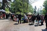Zahradnické trhy na Floře v Olomouci v sobotu 16. května.