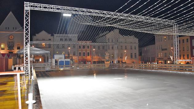 27. prosince 2018. Kluziště na Dolním náměstí v Olomouci už zavřelo