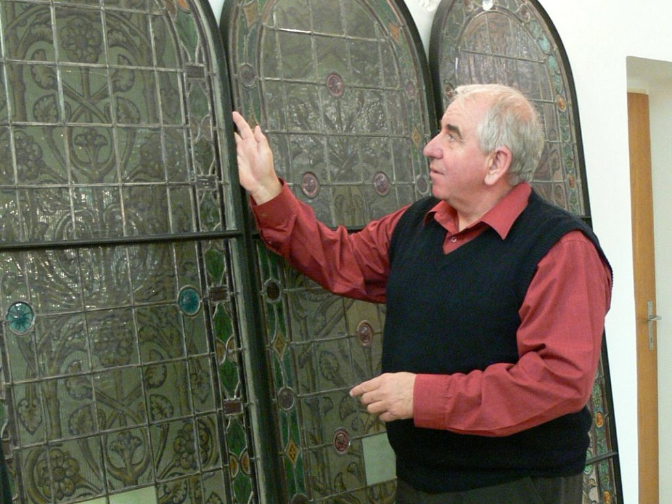 Okna z olomoucké synagogy