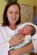 Marek Přecechtěl, Olšany u Prostějova narozen 20. srpna v Olomouci míra 51 cm, váha 3540 g