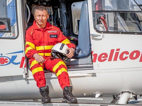Lékař letecké záchranné služby Milan Brázdil